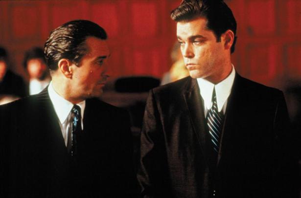 Robert De Niro With Ray Liotta in Goodfellas