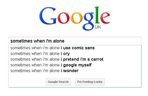 Sometimes When Iam Alone
