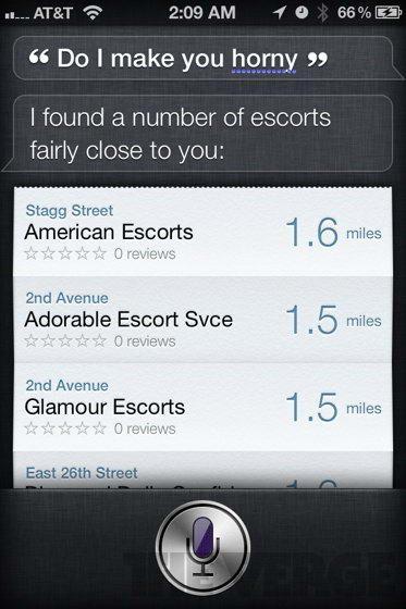 Do i make you horny - Siri