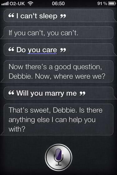 I cant sleep Siri