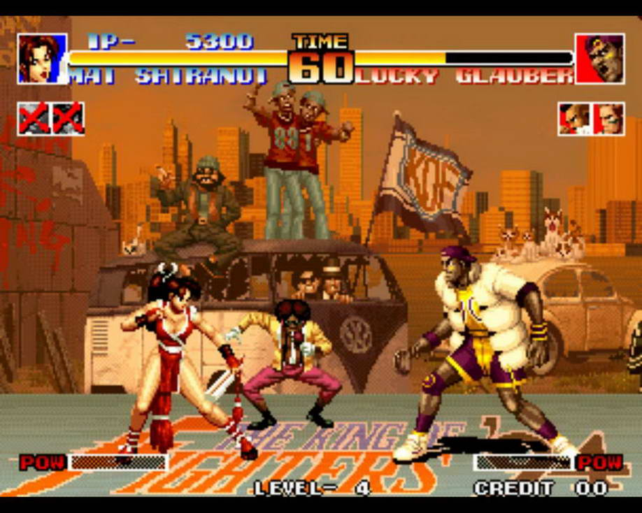 King OF Fighters Series - Famous Arcade Fighting Games