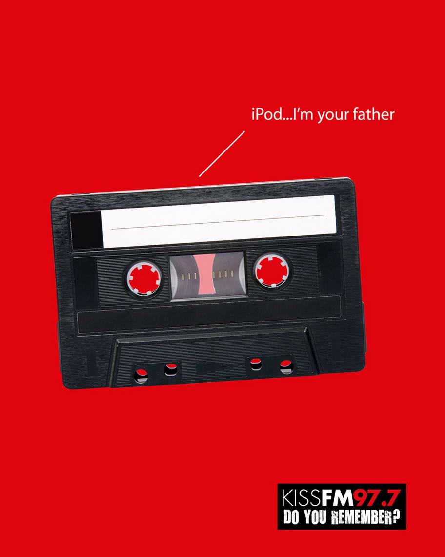Kiss FM Ipod Advertisemet