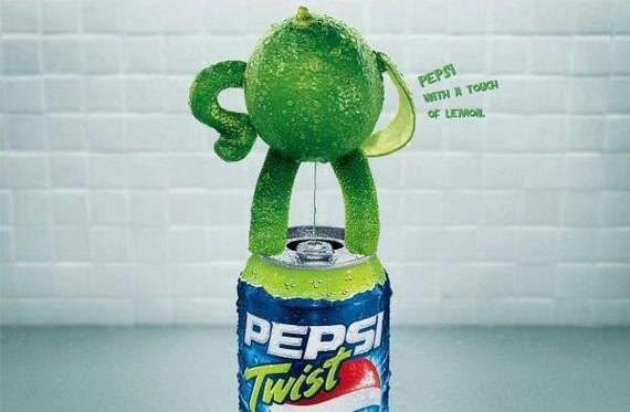 Pepsi Lemon Twist