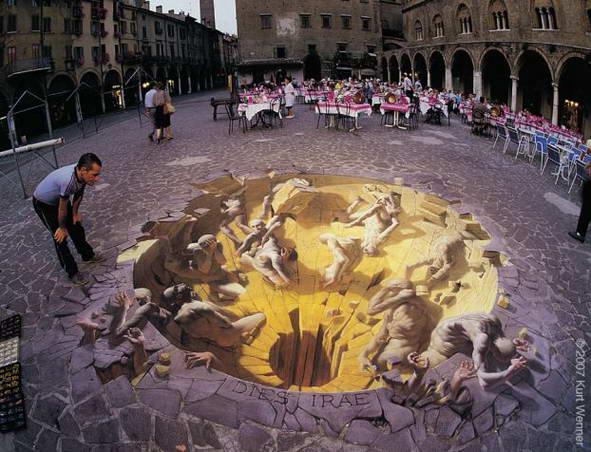 Sidewalk Art Dungeon