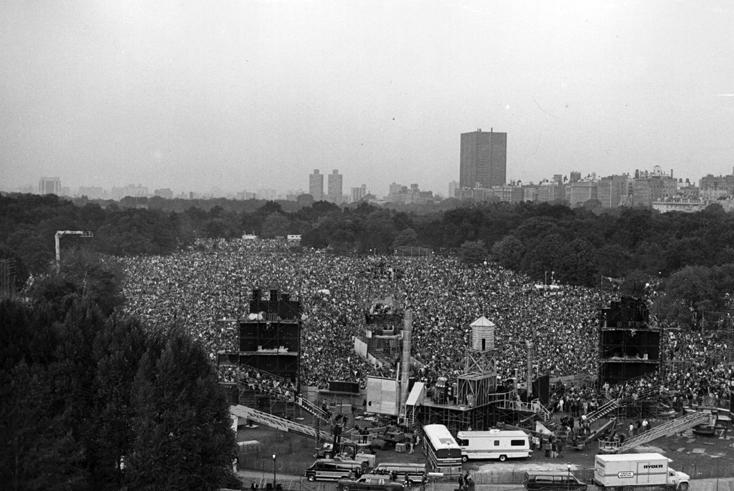 Simon & Garfunkel in Central Park (1981)
