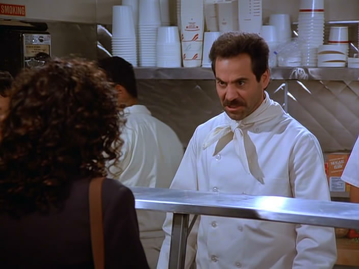 The Soup Nazi -Seinfeld
