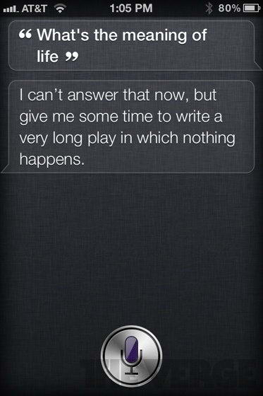 Whats the meaning of life - Most Ridiculous Siri Answers