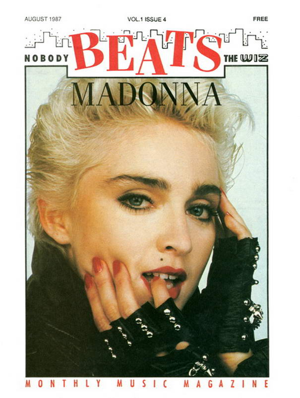Beats USA By Herb Ritts Madonna On Magazine Covers