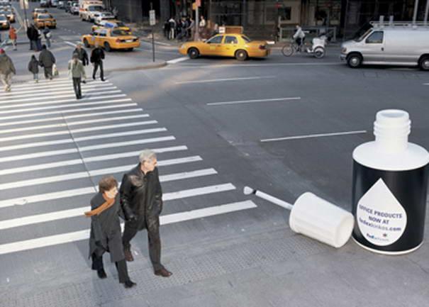 Fedex Crosswalk Ad