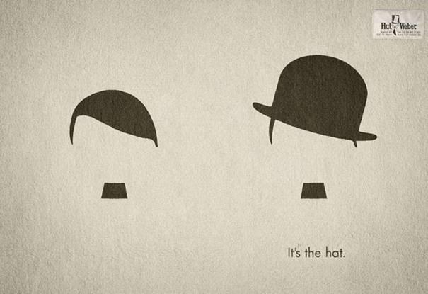 Hut Weber Hitler vs. Chaplin
