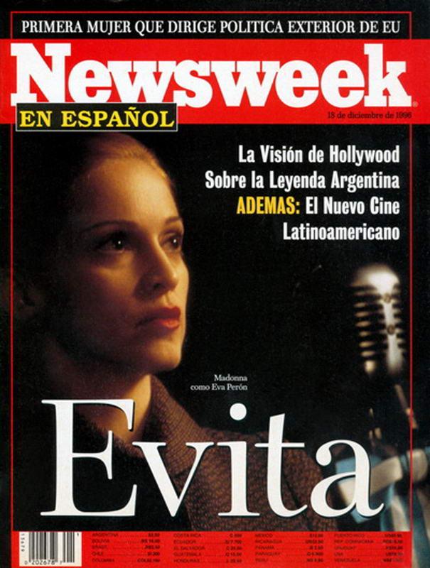 Newsweek Evita Cover
