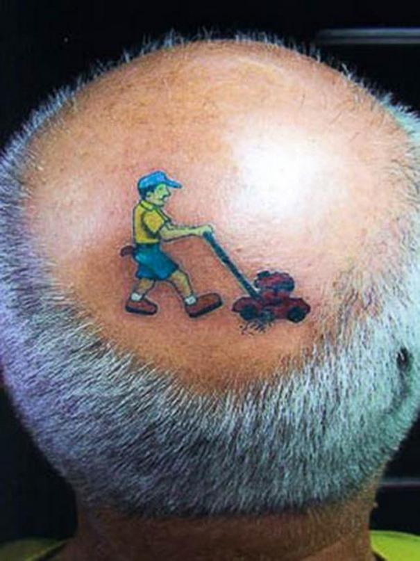 Grass Tattoo