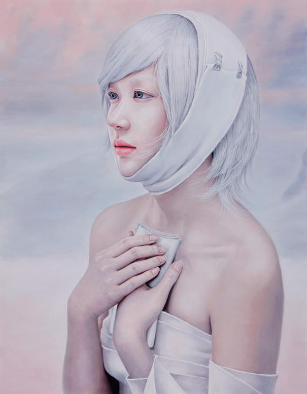 Kwon Kyung Yup (2) realistic paintings