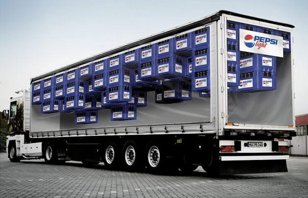 Pepsi Light Print Advertisements
