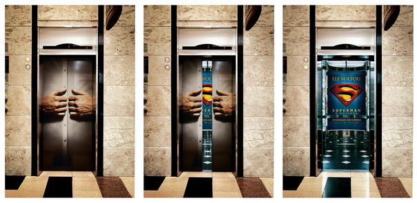 Superman Elevator