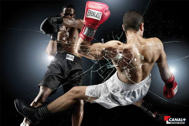 Canal Plus Boxing Sports Advertisements