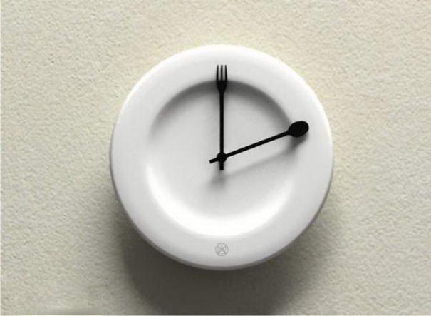 Dish Time Clock by Lau Design