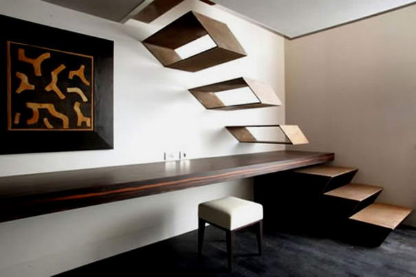 Floating Stairs By Guido Ciompi