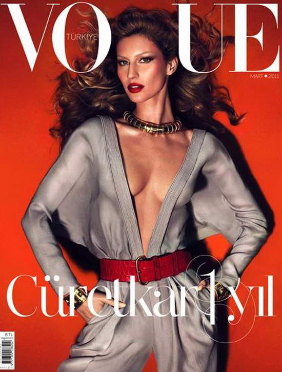 Gisele Bundchen On Vogue