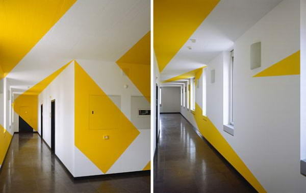 Illusions by Felice Varini 01