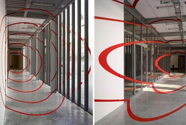 Illusions by Felice Varini 2