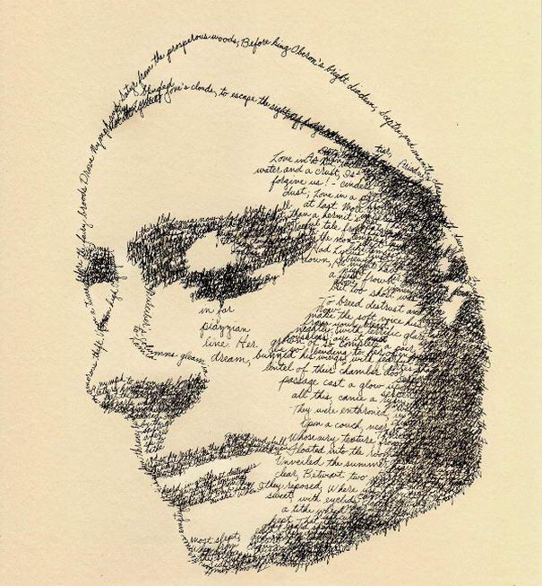 John Keats as Lamia