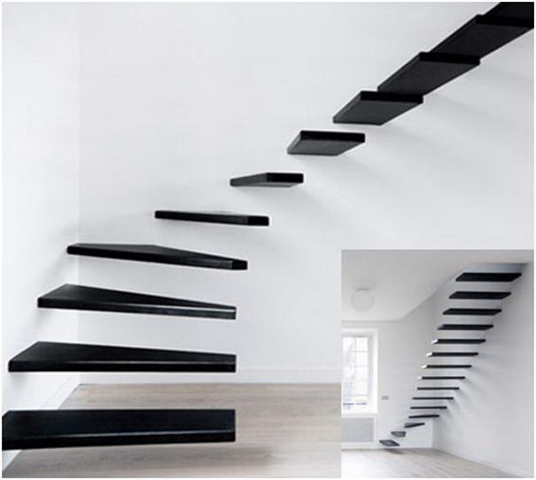 Minimal Staircase designed by Ecole
