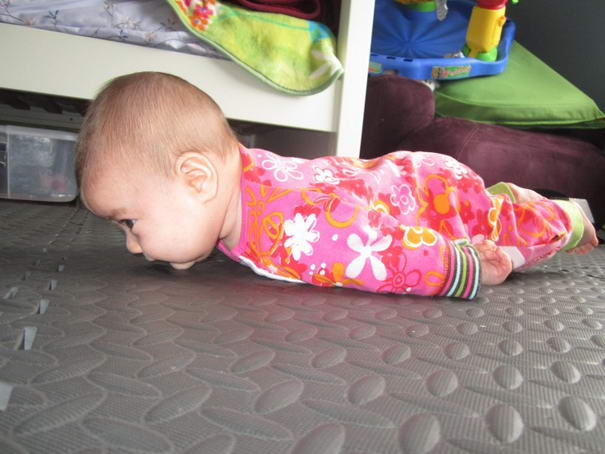Planking Baby