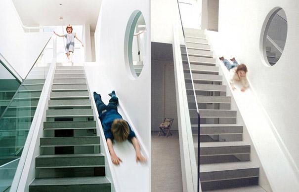 Staircase Slide By Alex Michaelis