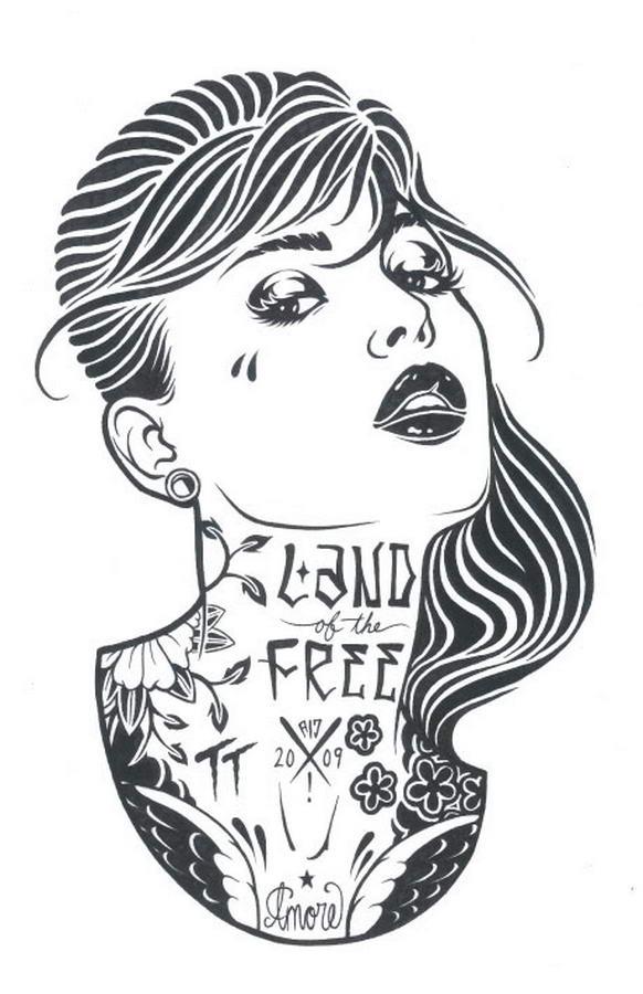 Tattoed Women By Adam Isaac Jackson