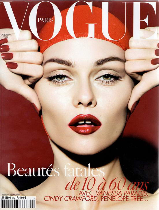 Vanessa Paradis On Vogue