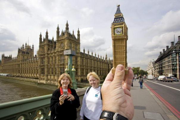 Big Ben Optical illusions