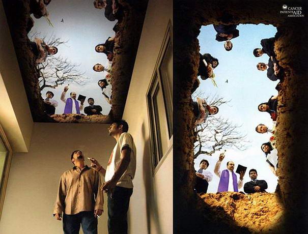 Burial Ceiling Mural