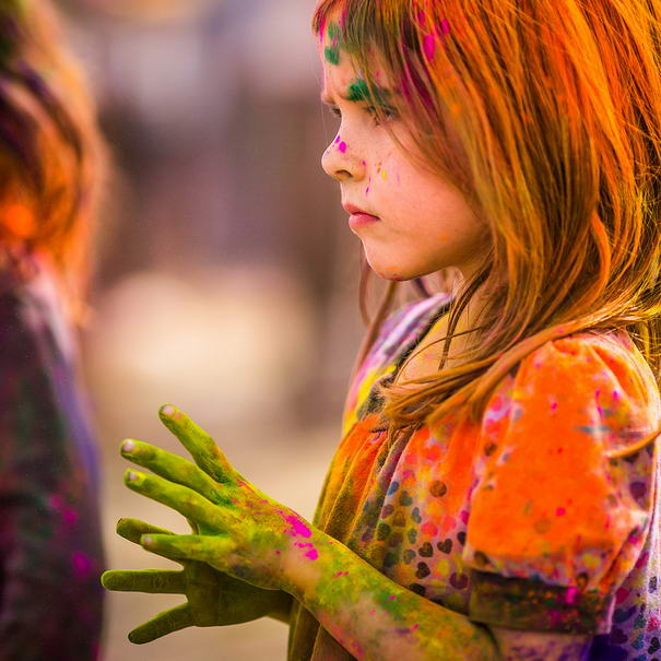 Coloured Fingers by Thomas Hawk