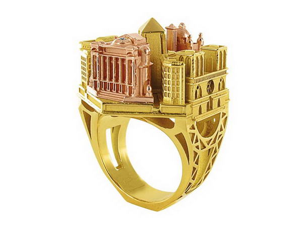 Paris Ring By Philippe Tournaire