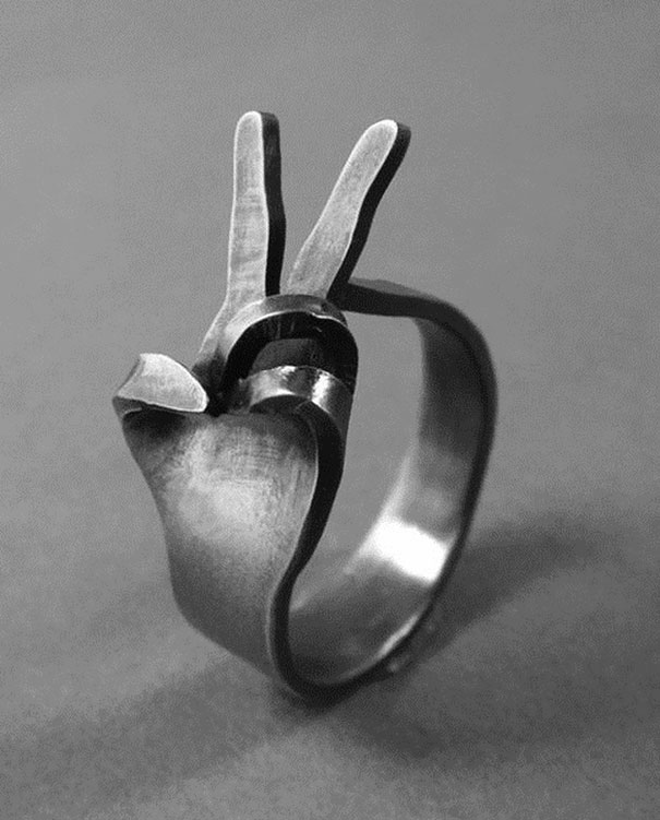 Peace Ring Ring Designs