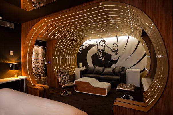 The James Bond Suite Hotel Rooms