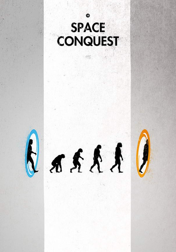 Space Conquest Meaningful Posters