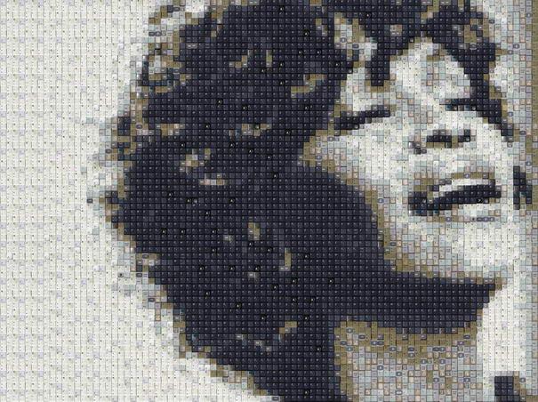 WBK Whitney Houston Mosaic Portraits