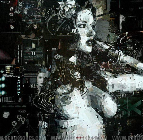 Collage Portraits By Derek Gores (8)