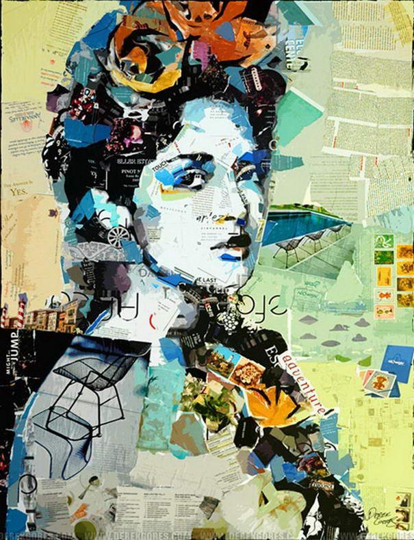 Collage Portraits By Derek Gores (6)