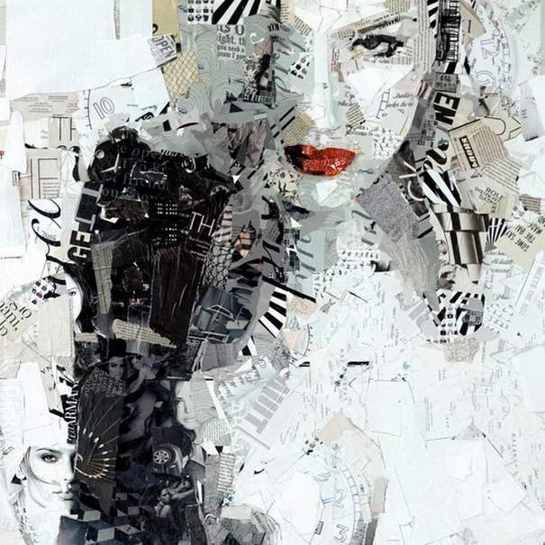 Collage Portraits By Derek Gores (5)