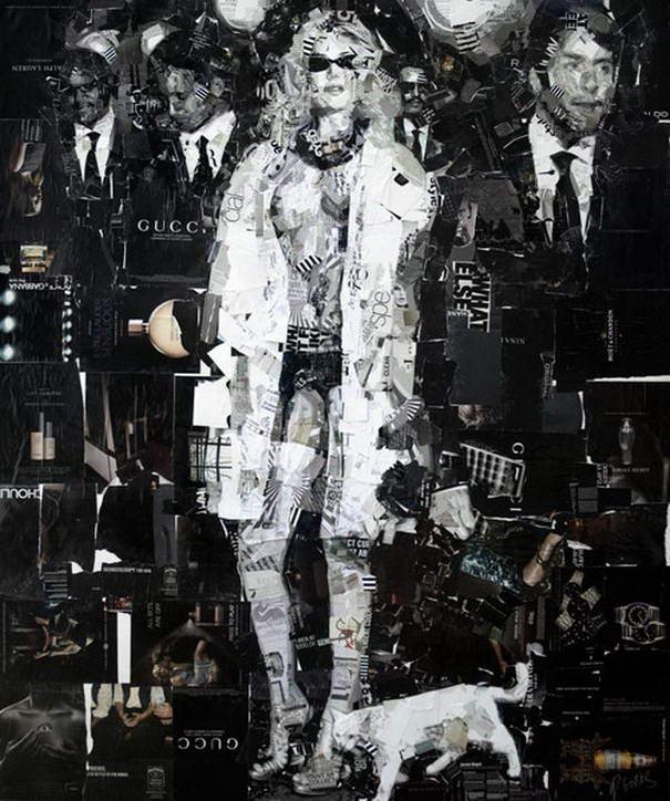 Collage Portraits By Derek Gores (4)