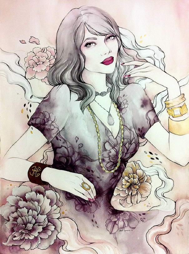 Illustrations by Soleil Ignacio (1) Alluring Illustrations