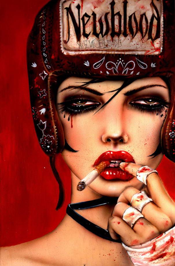 New Blood Smoking Portraits