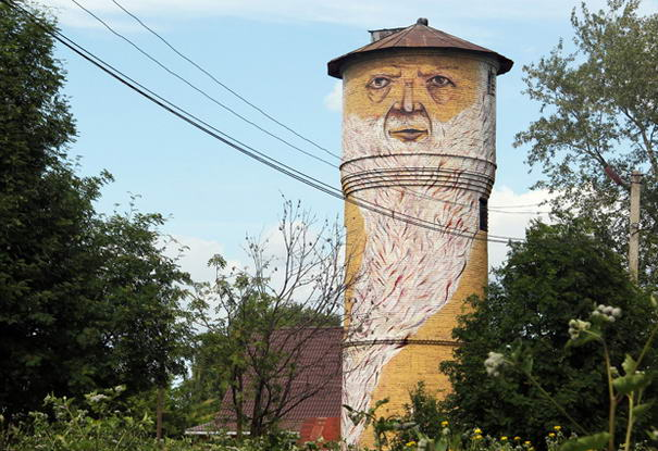 The Tower Man in Perm