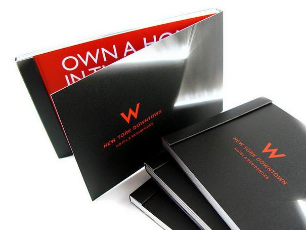 W Hotel New York Brochure Brochure Designs