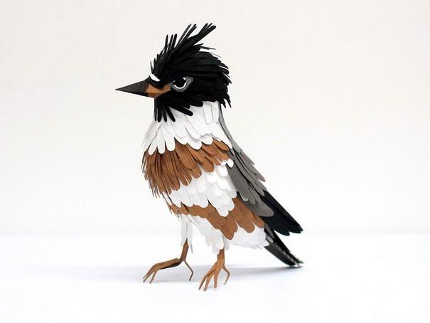 Belted Kingfisher Sculptures