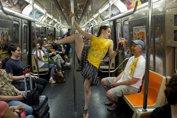 NYC Subway - Allison Jones