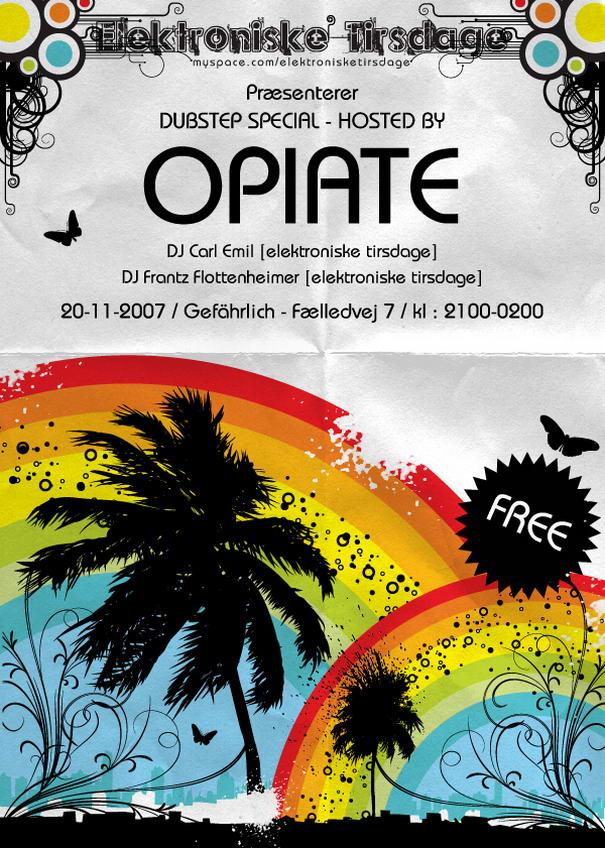 Opiate flyer